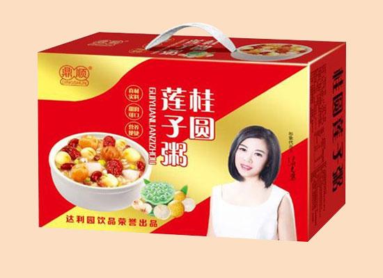 鼎顺桂圆莲子粥,优选多种五谷杂粮,香甜可口