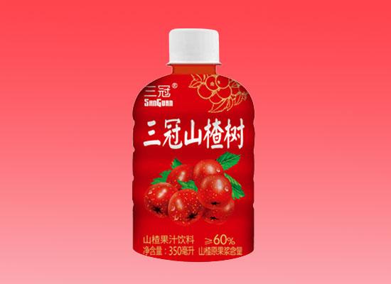 三冠山楂果汁饮料,风靡市场,邀您撬动财富