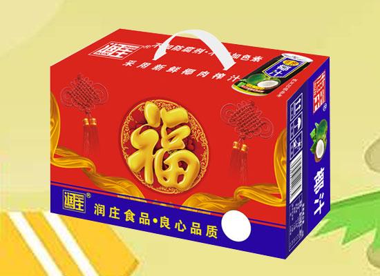 润庄椰汁植物蛋白饮料,口味正宗,清爽柔润不腻口