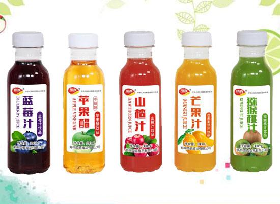 郑州顶真食品有限公司推出果汁系列新品,多种口味,美味享不停