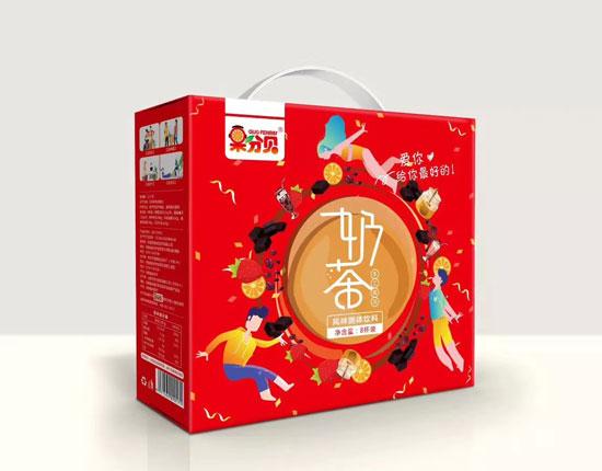 2019南京糖酒会盛大开幕,果分贝奶茶大展风采,火爆招商中