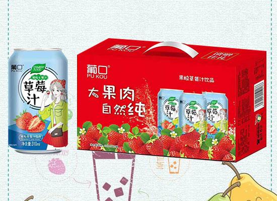 广东葡口食品新款果汁上市,精致礼盒,可谓送礼佳选!