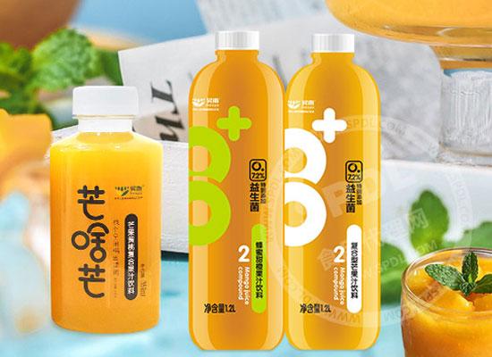 昊雨益生菌芒果复合果汁,用实力征服果汁市场