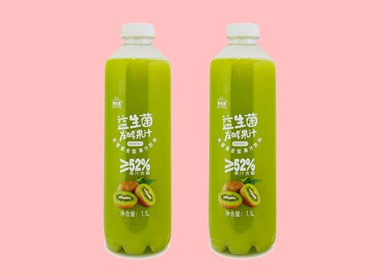 维他星猕猴桃汁益生菌发酵果汁饮料,瓶装方便携带,美味众享