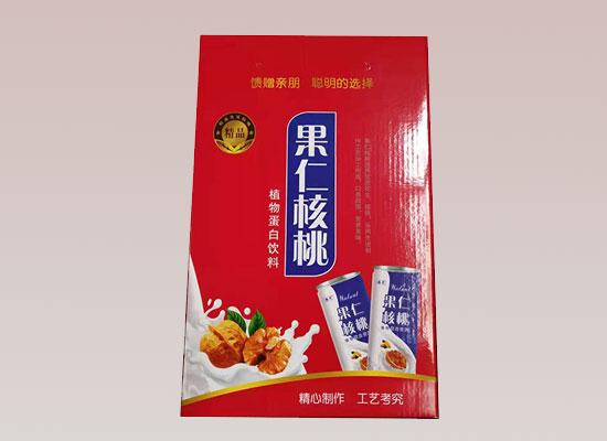 滕晟果仁核桃奶,畅销产品,风靡市场