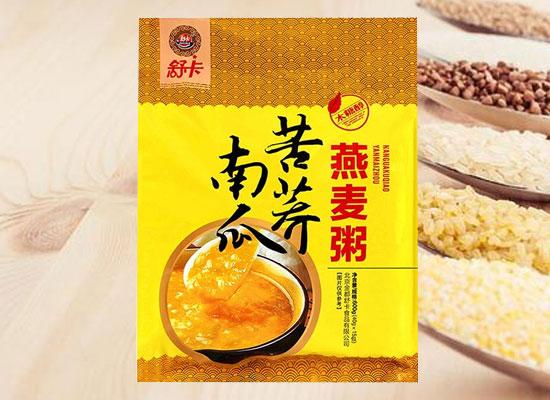 舒卡燕麦粥,多种口味,上市即火爆