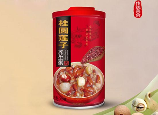 初一桂圆莲子养生粥,自上市以来,深受消费者青睐