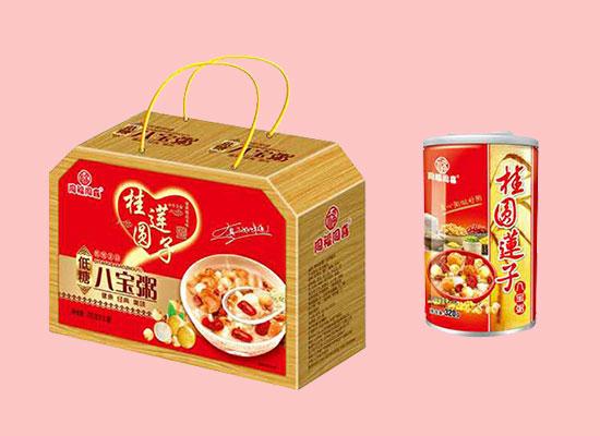 同福同喜桂圆莲子八宝粥,养生食品,美味众享