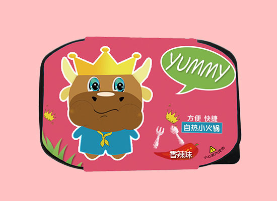 华田牛中牛自热小火锅,方便快捷,美味众享