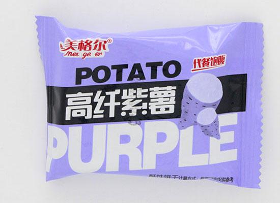 美格尔高纤紫薯饼干,美味与营养并行的好零食
