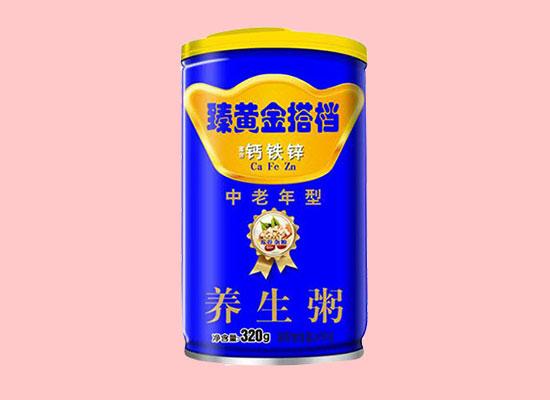 臻黄金搭档钙铁锌养生粥,营养健康,众享美味