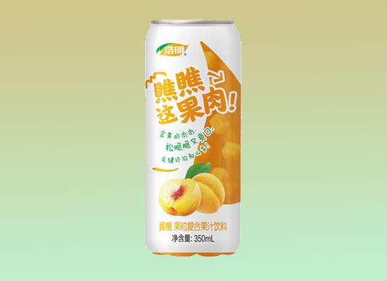 浩明复合果汁饮料,热卖爆品,成为市场焦点