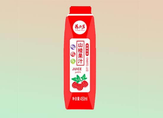 养力多山楂果汁,火红礼盒装,火爆饮品市场