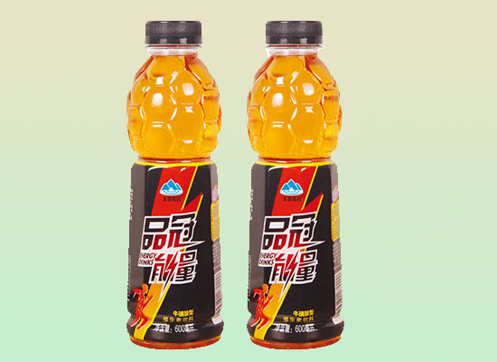玉泉品冠能量飲料,能量感十足,超高市場認可度