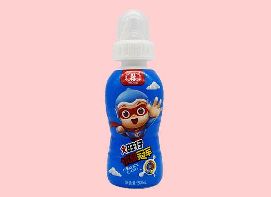 旺仔优儿童乳味饮料,营养健康,美味丰富
