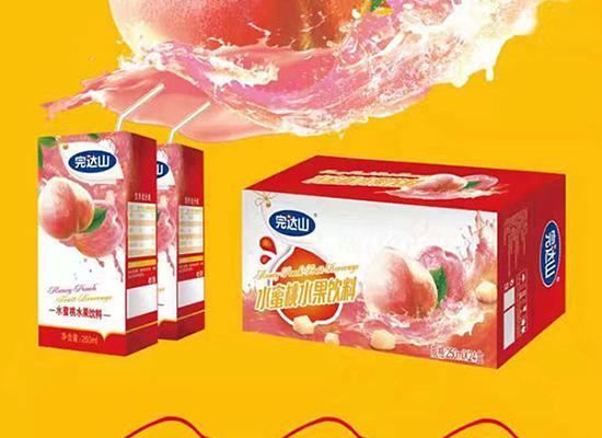 完达山水蜜桃汁饮料,新包装全新上市,美味众享