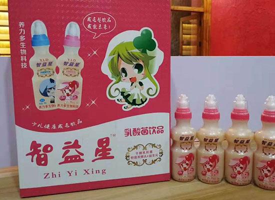 智益星乳酸菌饮品,款式多样,掀起销售狂潮
