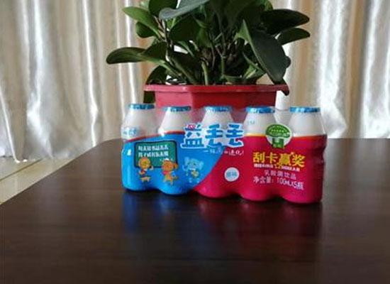 益丢丢乳酸菌饮品,从源头把握质量,酸酸甜甜好味道