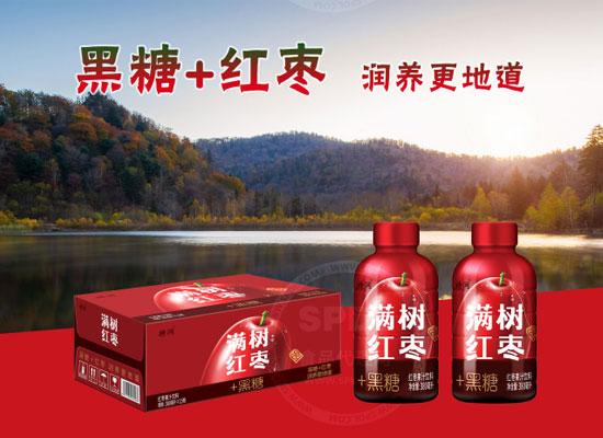 满树红枣红枣汁秉承健康理念,打造创新型果汁饮品
