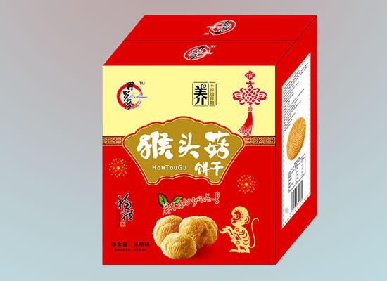 百罗萨猴头菇饼干,终端市场火爆,期待与你共讨商机