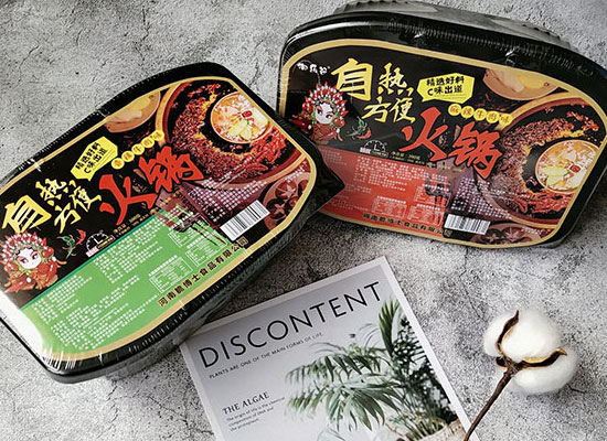 御乐谷自热火锅,卖点足,风靡市场