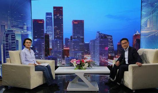 溢丰饮品创始人黄亦峰做客《信用中国》