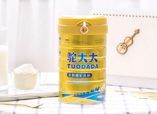 驼大大奶粉,市场热销爆品,等您代理