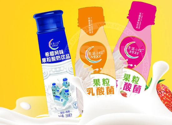 幸福小样果粒乳酸菌饮品,实力选手,赢得众多经销商认可