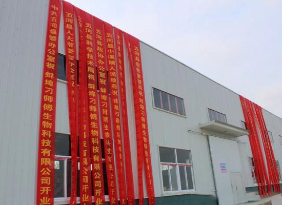 蚌埠刁师傅生物科技有限公司揭牌仪式