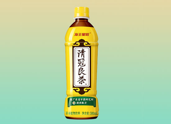 海王星辰清冠良茶饮料,健康无添加,营养好味道