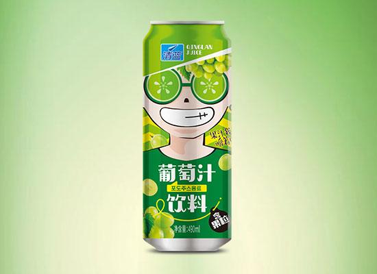 清蓝椰子葡萄汁饮料,颜值高口感好,广大经销商的上上之选