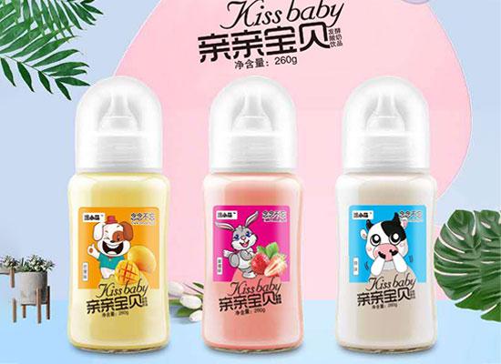 泺饮生物旗下酸奶种类众多,颖润、泺小萌、 亲亲宝贝等多款酸奶销量火爆!