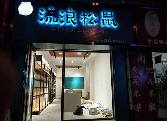 流浪松鼠&零食分享店盛大开幕,多款美味零食等你来选!