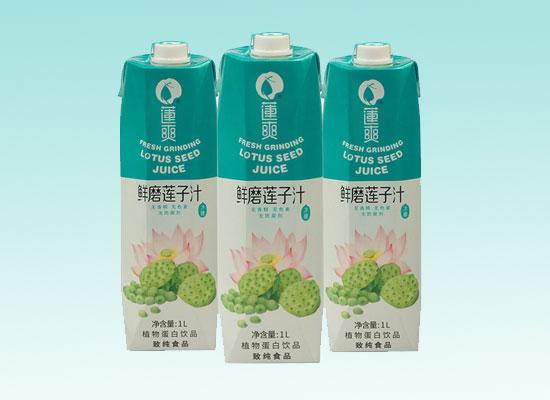 莲爽鲜磨莲子汁,用实力赢市场,广受好评