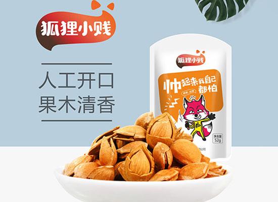 狐狸小健实业旗下产品坚果品类众多,多款美味等你来选