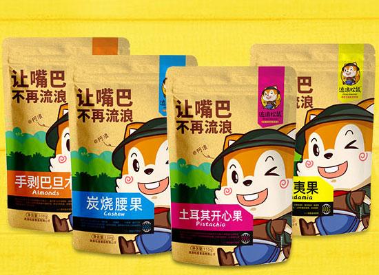 河南流浪松鼠食品旗下产品众多,引领休闲食品新风暴尚,畅销终端!