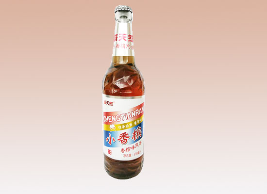 诚天然小香槟汽水,颜值与内涵兼具,引市场追捧