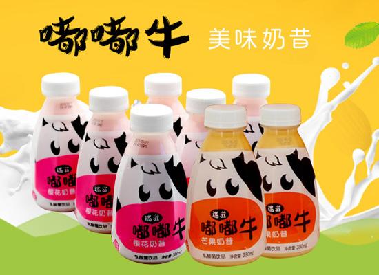 瑞滋嘟嘟牛奶昔,两种不同口味可选,满足更多需求