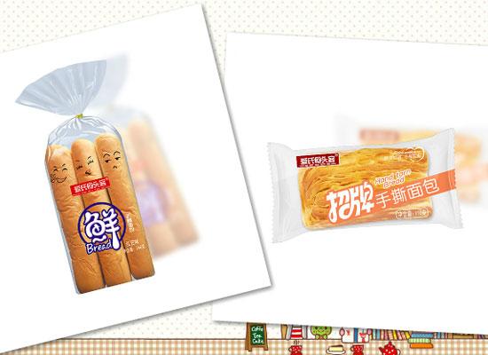爱氏回头客乳酸菌吐司,独立小包装,美味随心享!