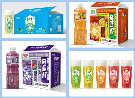再次推新,真真果乐饮品旗下维果品奇亚籽复合果汁重磅上市!