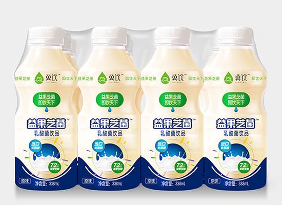 冀饮益果艺菌,72小时发酵的乳酸菌饮品