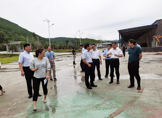 枣庄市相关领导到厂视察指导,亭栗品质管理获认可