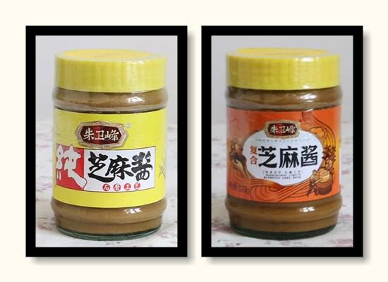 朱卫峰芝麻酱,采用石磨工艺的高品质芝麻酱