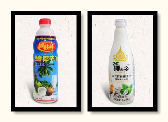 椰资乡生榨椰子汁,真实椰果喝出来