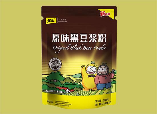 龙王有机豆浆粉,可以冷水冲泡的豆浆粉