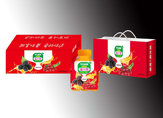 冠芳山楂树下新品来袭,溢汁园果味饮料抢先上市!