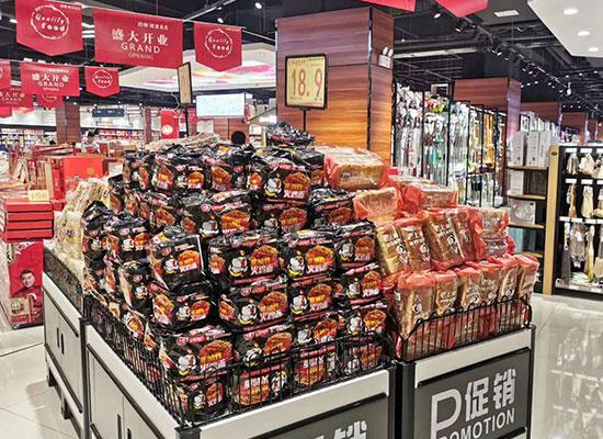 好产品赢得好市场,健趣食品线下铺货所向披靡