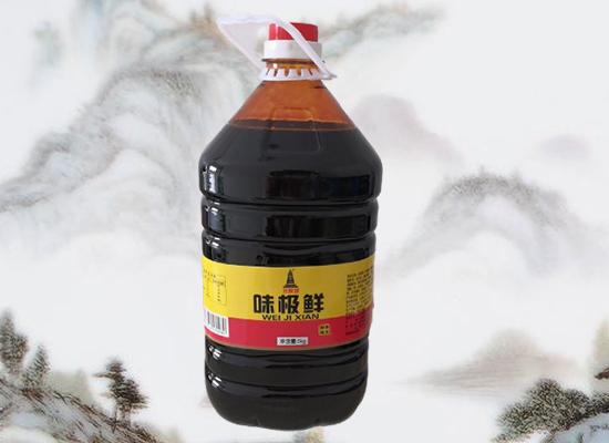 好吉多食品推新,龙泉塔味极鲜酱油抢先上市!