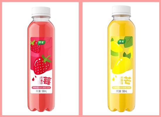 金砖食品再推新品,港津复合益生菌果汁饮料抢先上市!