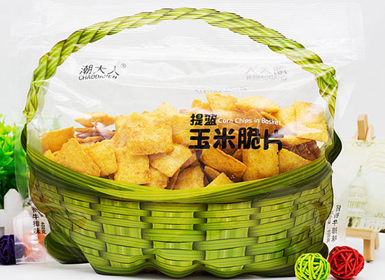 潮大人提篮玉米脆片,香酥美味新选择